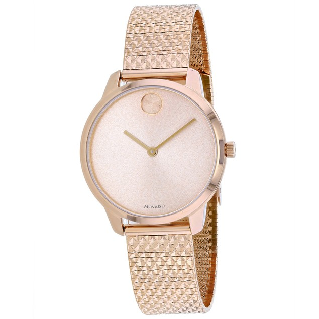 Movado Women's Bold Rose gold Dial Watch - 3600596