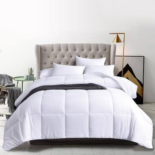 All Season White Down Alternative Quilted Comforter/Duvet Insert