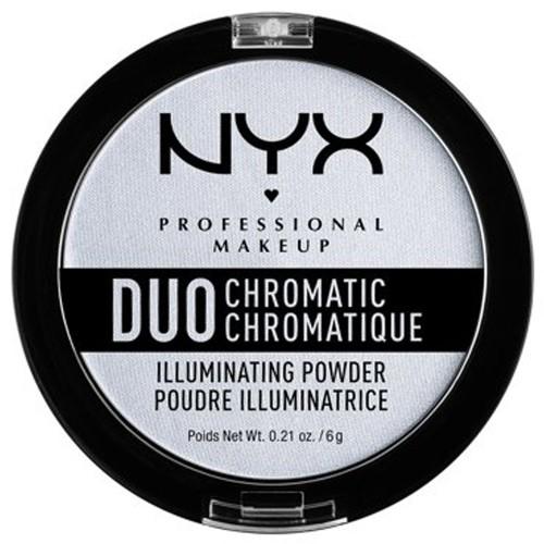 NYX Professional Makeup Duo Chromatic Illuminating Powder, Twilight Tint 0