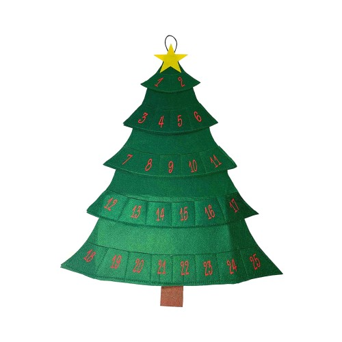 Midlee Christmas Tree Advent Calendar for Dogs