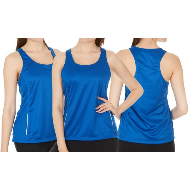 2-Pack Women's Assorted Active Athletic Performance Tanks