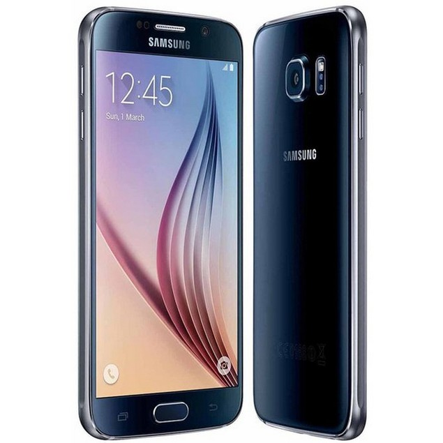 Samsung Galaxy S6, AT&T, Grade B-, Black, 32 GB, 5.1 in Screen
