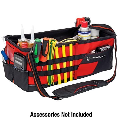 Powerbuilt 21-Inch Tool Carrier Organizer Bag