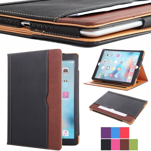 iPad 9.7 6th Generation Soft Leather Smart Cover Case Sleep Wake For Apple