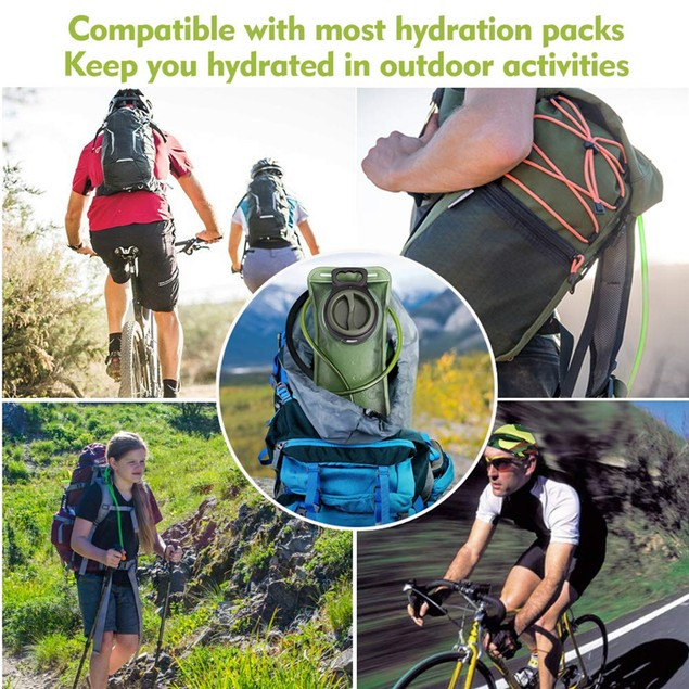 2L Bicycle Camel Water bag Bladder Hydration Backpacks Camping Water Bag