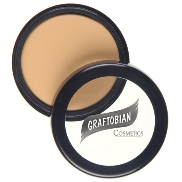 Sunlit Linen HD Glamour Creme Foundation 5oz. Graftobian Cruelty Free USA