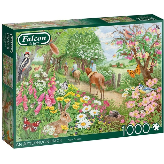 Falcon An Afternoon Hack Jigsaw Puzzle - 1000 Pieces