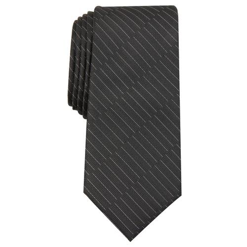 Alfani Men's Maximus Solid Tie Black Size Regular
