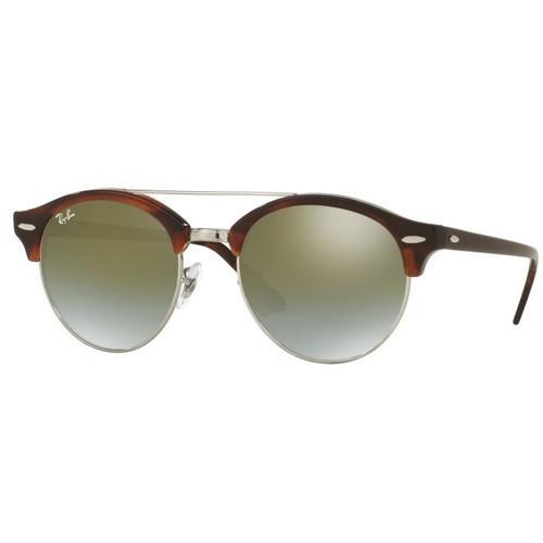 Ray-Ban Clubround Double Bridge Sunglasses RB4346-62519J-51