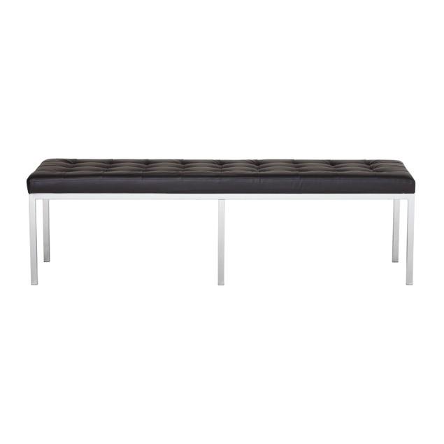 "Studio Designs Lintel 60"" Bench Bonded Leather"