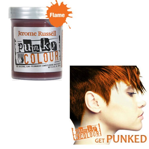 Flame Orange Punky Colour Hair Dye