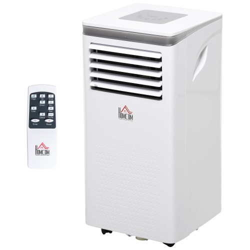 Mobile Air Conditioner 4 Modes 2 Speeds LED Display 24 Timer Home Office