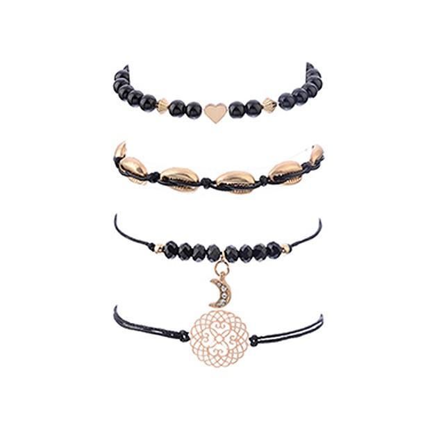 Black Moon Date Night Bracelets Sets for Women