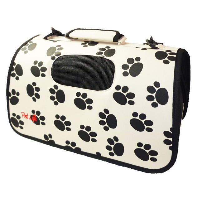 Airline Approved Folding Zippered Sporty Cage Pet Carrier