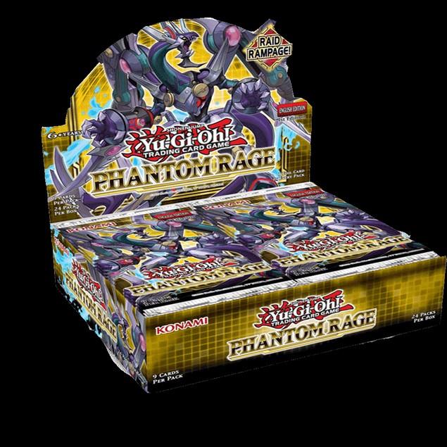 Yu-Gi-Oh! TCG Phantom Rage Booster Box (24 Packs)