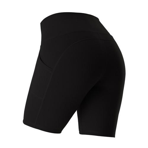 Women's Sports Pocket Tight High Waist Yoga Shorts