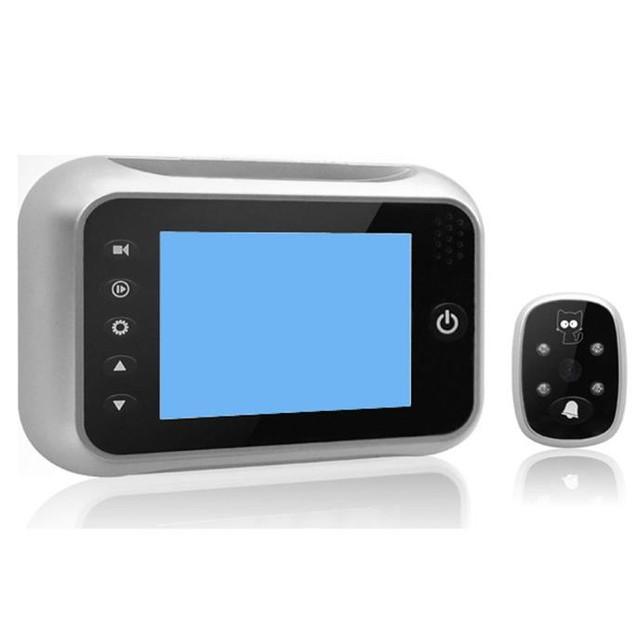 LCD Digital Peephole Viewer 120 Door Eye Doorbell Video Camera