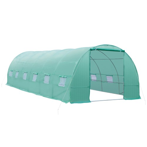 New Greenhouse 26'x10'x7'Large Size Walk In Hot Green House Plant Gardening