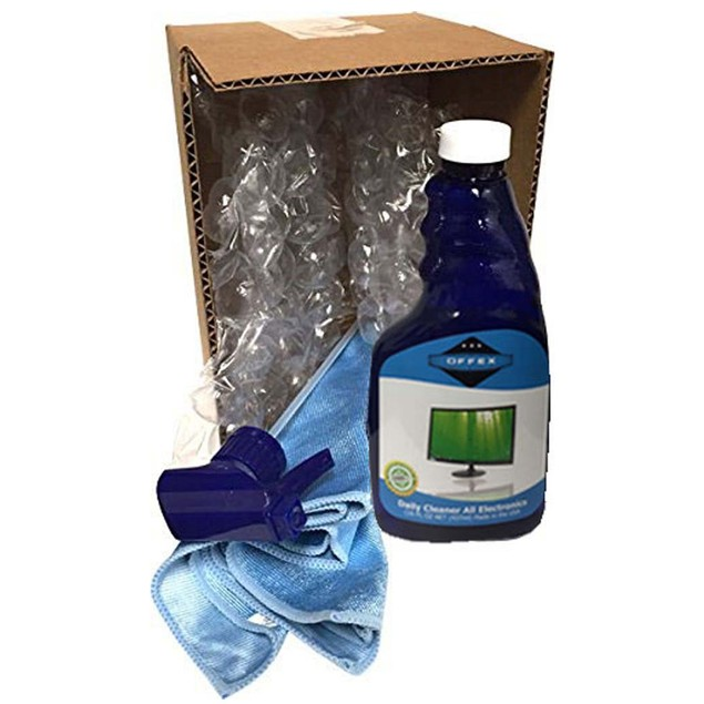 Offex Screen Cleaner Kit Includes 16 Oz Spray Bottle with Microfiber Cloth