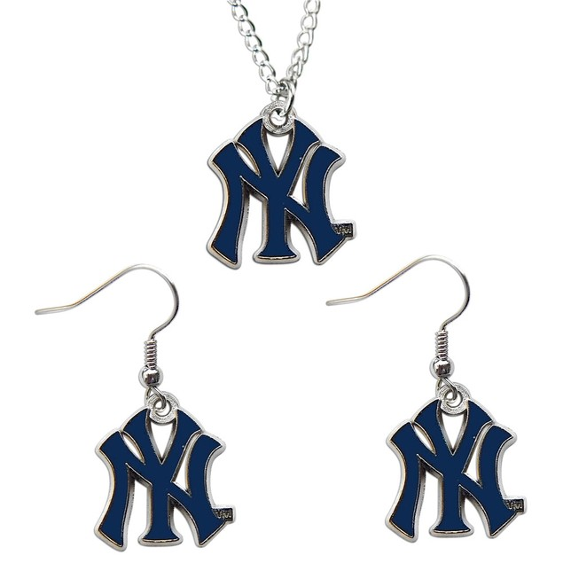 New York Yankees - MLB Earring and Necklace Set