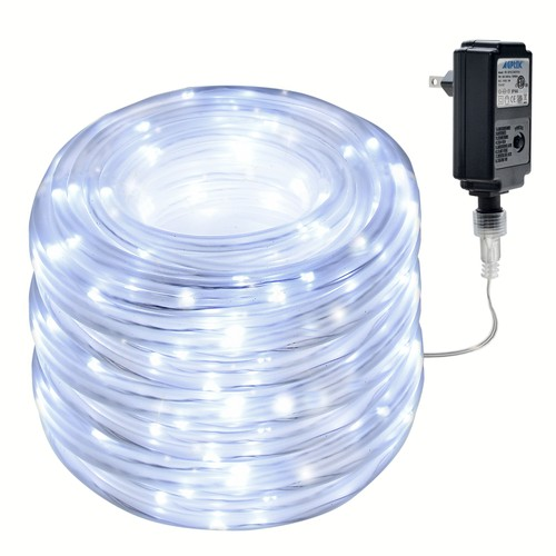 COPPER WIRE STRING ROPE LIGHTS 23M/75.5FT WITH MEMORY FUNCTION WHITE