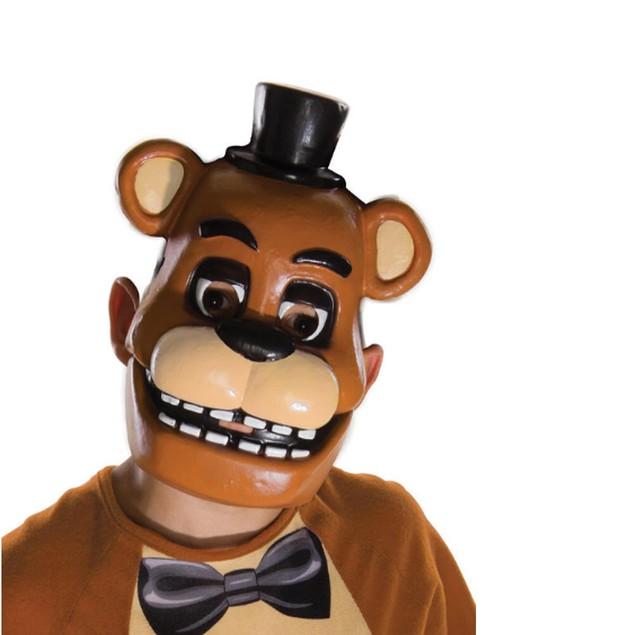 Five Nights At Freddy's Freddy Fazbear Child 1/2 Mask - BROWN