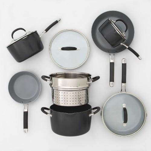 Ceramic Coated Aluminum Cookware Set 11pc - Made By Design