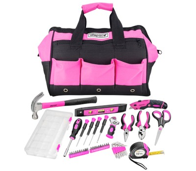 Allspace 43-Piece Tool Set with Tool Bag Was: $79.99 Now: $44.99.