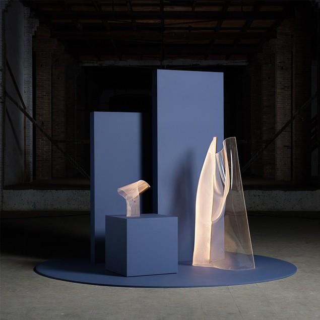 Crystal LED Floor Lamp, Modern Art Decorations
