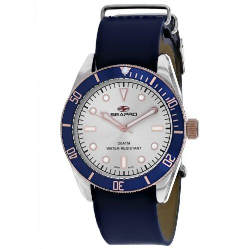 Seapro Men's Revival Silver Dial Watch - SP0300