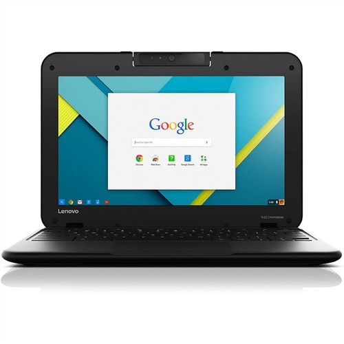 "Lenovo Chromebook 11 N22 11.6"" 16GB N3060 ChromeOS,Black (Refurbished)"