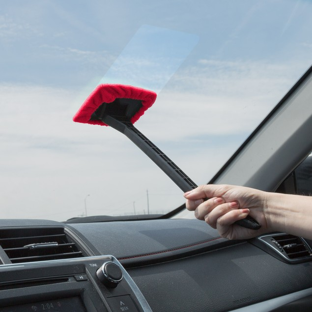 Windshield Cleaner with Microfiber Cloth