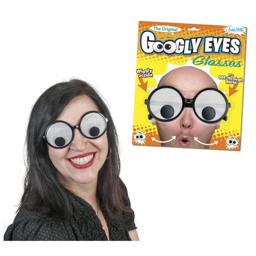 Googly Eyes Glasses Costume Accessory Funny Humor Gag Gift Fun