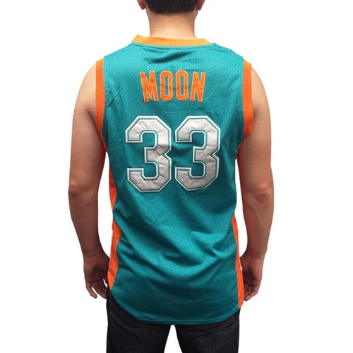 Jackie Moon #33 Flint Tropics Green Basketball Jersey