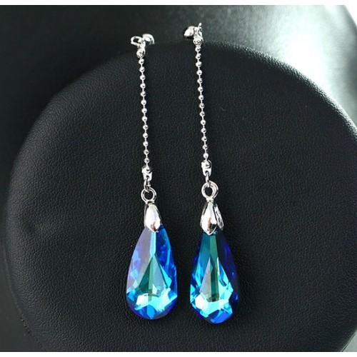 Fashion Pear Cut Drop Earrings