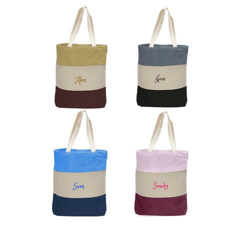 Personalized Canvas Tote Bag /Shopping /Travel