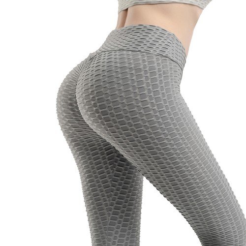 Honeycomb Yoga Breathable High Waist Women's Pants