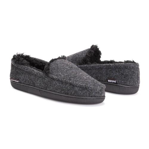 MUK LUKS ® Men's Faux Wool Moccasin Slippers