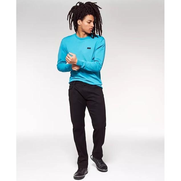 Hugo Men's San Claudio 2 Regular Fit Sweater Turq Aqua Size XX-Large