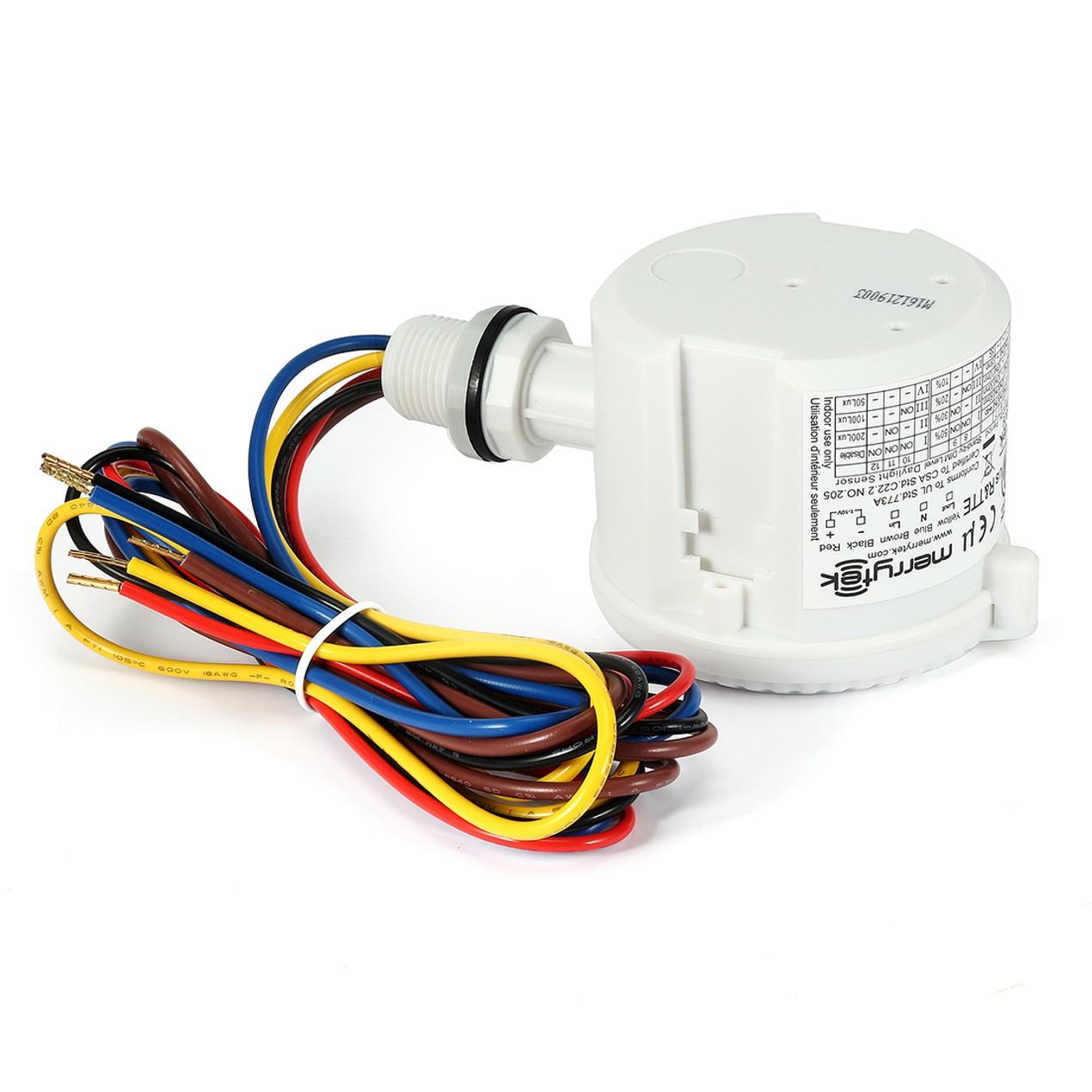 Merrytek Authorized MC031V/d IP65 Rating Microwave Light