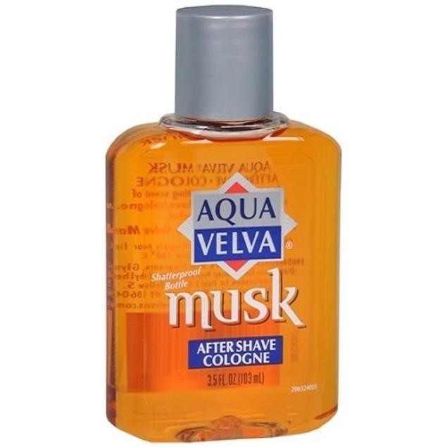 Aqua Velva Musk After Shave Cologne 2 Bottle Pack
