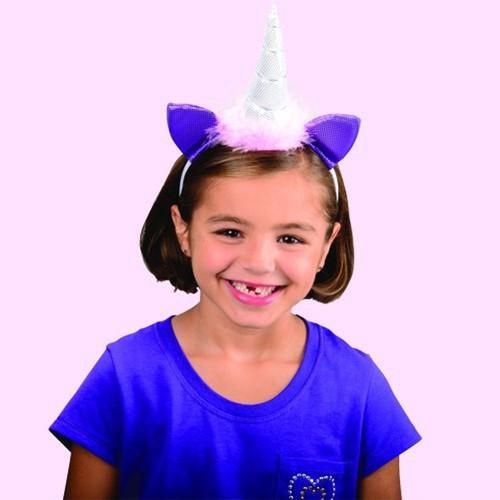 Unicorn Headband My Little Pony Horn Ears Princess Fantasy Sparkle Girly