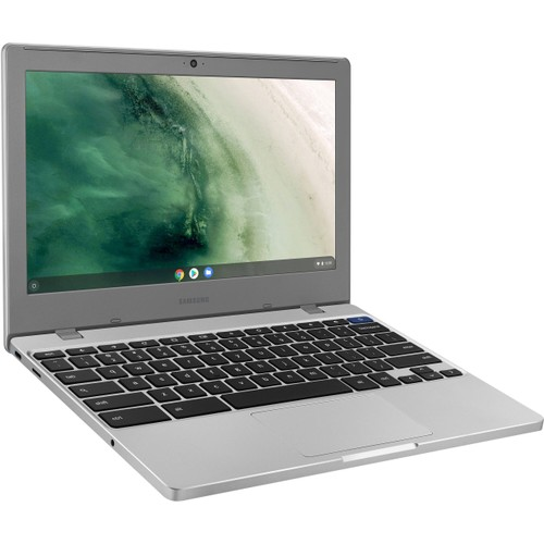 "Samsung Chromebook 4 11.6"" 32GB, Platinum Titan (Refurbished)"