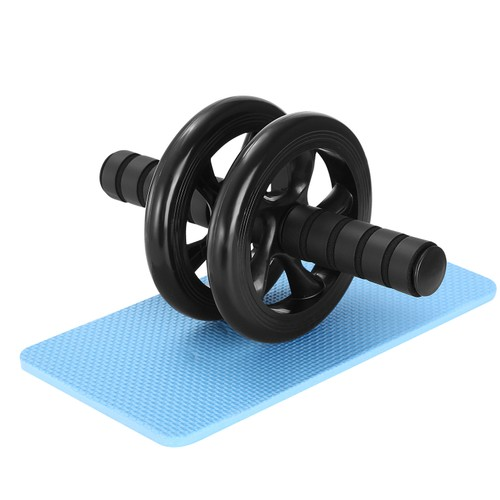 Ab Roller Wheel Fitness Exercise Wheel Roller w/ Knee Pad for Abs