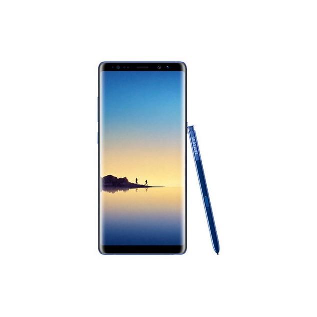 Samsung Galaxy Note 8, Unlocked, Blue, 64 GB, 6.3 in Screen