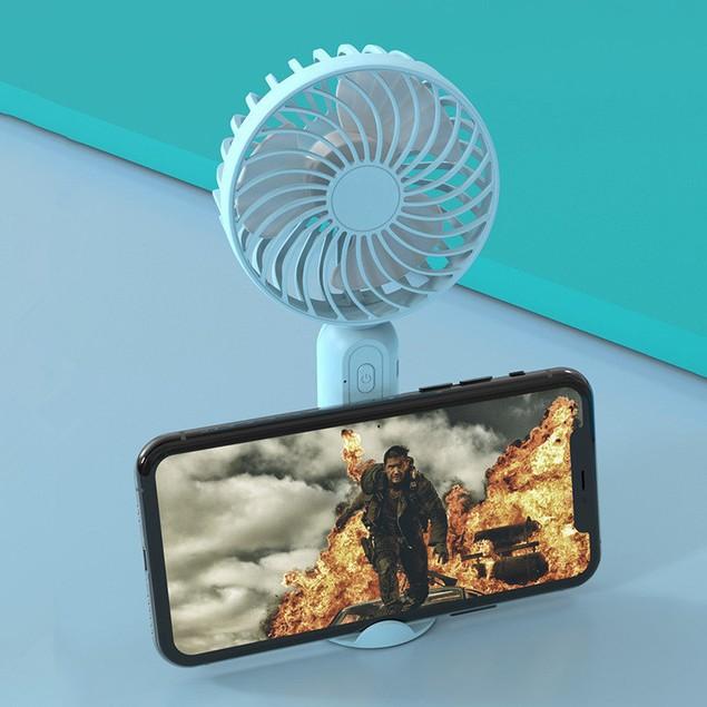 Convenient Desktop Desktop Usb Charging Fan With 2000 Mah Battery