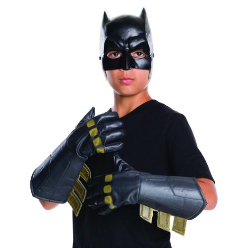 Child Batman Gauntlets Gloves v Superman Dawn of Justice DC Comics Movie