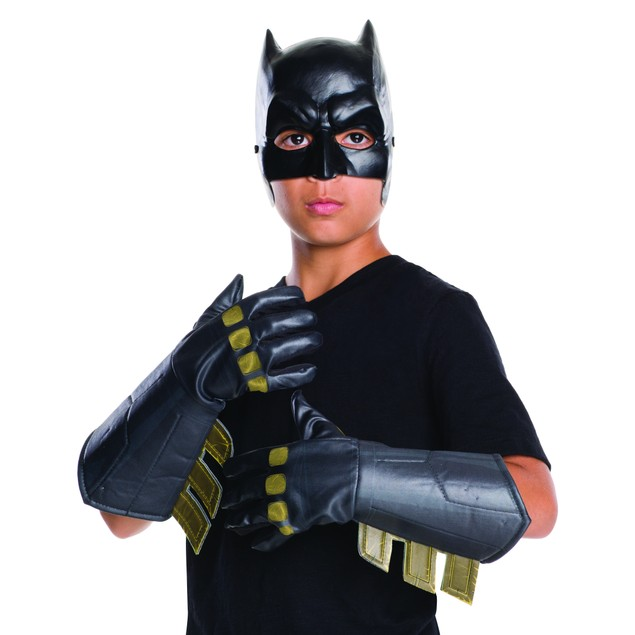 Child Batman Gauntlets Gloves v Superman Dawn of Justice DC Comics Movie