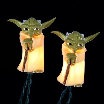 Yoda Christmas Lights Star Wars Strand String Movie Xmas Hanging Decoration