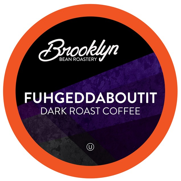 Brooklyn Beans Fuhgeddaboutit Coffee Pods for Keurig 2.0 Brewer, 40 count